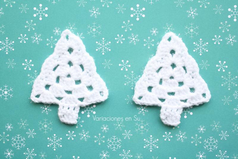 crochet-white-trees