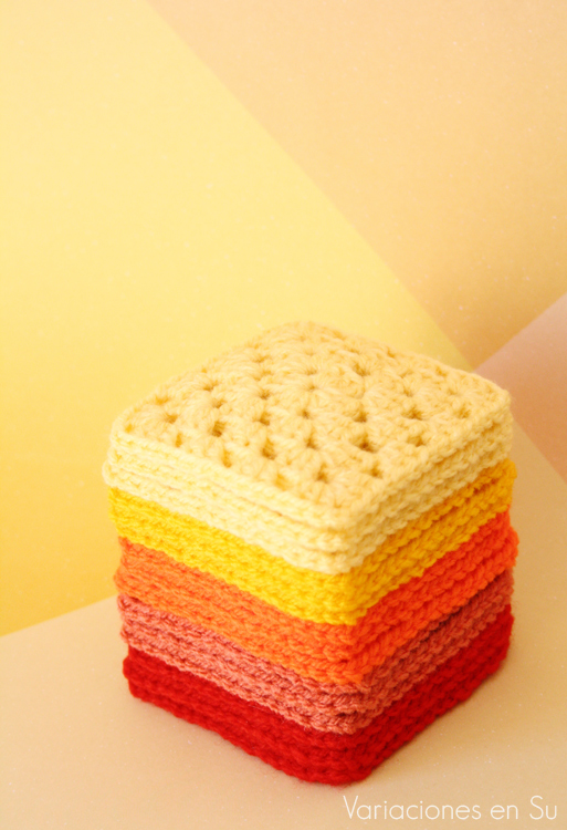 granny-squares-in-reds-and-yellows